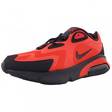[해외] 나이키 남성 에어맥스 200 Nike Men's Air Max 200 - Habanero Red/Oil Grey