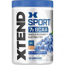 [해외] Scivation Xtend 엑스텐드 스포츠 Sport BCAA 아미노산 전해질 Powder - Electrolyte Powder for Recovery & Hydration with Amino Acids - 30 Servings