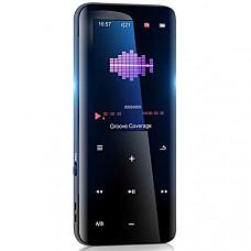 [해외] aiworth 32GB Mp3 Player with Bluetooth 5.0 - Portable Digital Lossless Music Player for Walking Running,Super Light Metal Shell Touch Buttons with TF Card Expansion
