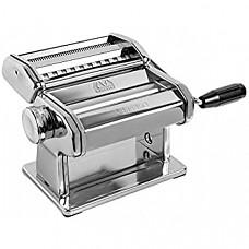 [해외] 마르카토 아틀라스 150 롤러 파스타 제면기(Made in Italy, 커터기 및 핸드 크랭크 포함) MARCATO Atlas 150 Pasta Machine, Includes Cutter, Hand Crank, and Instructions, 150 mm, Stainless Steel